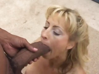 Cock is super thick inside hawt milf