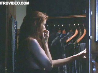 Redhead Celeb Angie Everhart Exposes Her Large Round Jugs