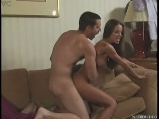 Breasty Brunette Tabitha Stevens Acquires Banged In a Hawt Softcore Sex Scene