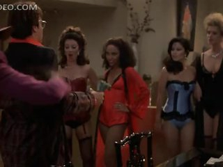 Fran Drescher and Lots Of Hot Honeys Dancing In Really Hot Underware