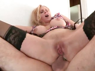 Scorching Julia Ann is crammed up her arse hole
