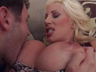 Delicious Puma Swede gets her attractive rack licked