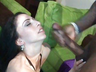 Sensual Veronica Jett gets drenched in hot cum
