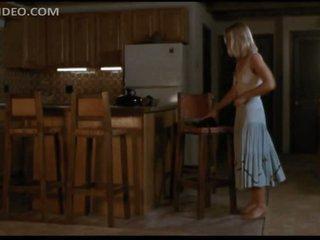 Gorgeous Jodie Foster Puts On Hawt Black Stockings - 'Catchfire' Scene