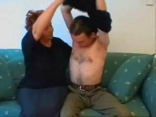 BBW Granny Home Sex Movie scene