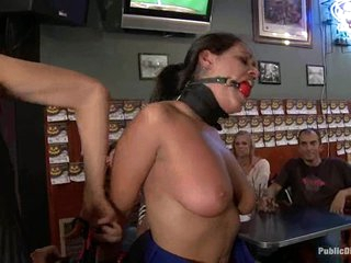 Bondage please.  Charley Chase is publically constrained in a local bar.