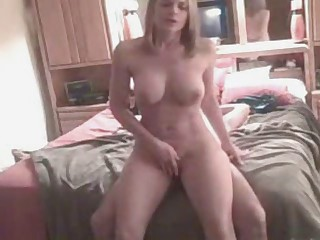 Sexy Milf Tapes Her Sex