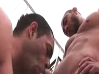Alberto Jose and Dennis de nello outdoor fucking 8 by alphamansuckers