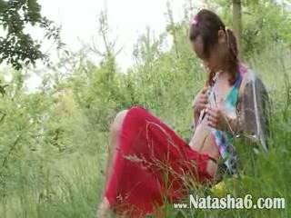 belarusian Natashas back to nature