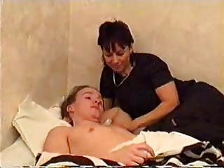 Mom Wakes Son For Sex