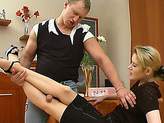 Ninette&Adrian great nylon feet clip