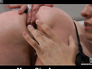 Caroline M&Morris anal mommy in action