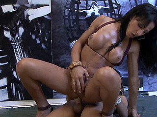 Yasmin&Nicole two shemales on clip