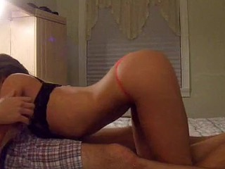 Hot blonde goes wild in this amateur porn clip
