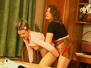 Rebecca&Rosaline vivid lesbo older action