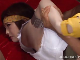 japanese chick needs to be disciplined