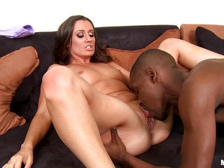 horny brunette milf wants it big & black