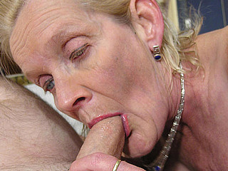Granny just gets the fuck of a lifetime