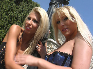 Clara G and Jasmin get jointly in this avid fisting.