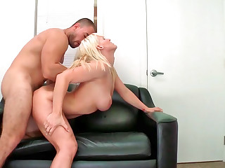 Raunchy MILF Kaylee Brookshire gets shagged hard on a casting couch