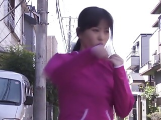 Best Japanese whore Ai Narita in Exotic big tits, fingering JAV video