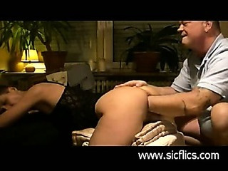 Extreme fist fucked non-professional slut has her cunt stretched wide