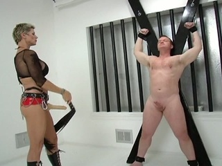 Horny sexual slave get punished