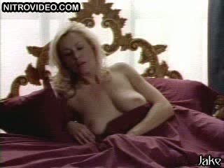 Mesmerizing Blonde Babe Carrie Yazel Gets Pounded On Her Bed