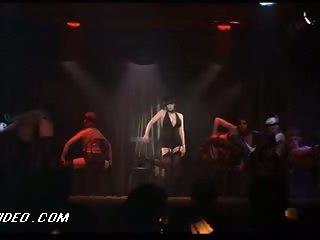 Retro Babe Liza Minnelli Dancing In Lingerie in a Hawt 'Cabaret' Scene
