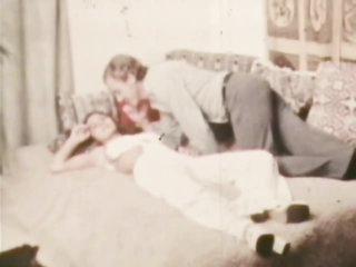 Retro Pornstar Trudy Wellers Gets a Facial from John Holmes' Big Cock