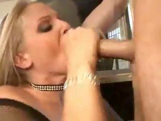 Julia Ann arouses and gets fucked hard