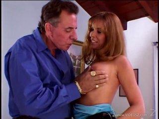 Super Slutty Blonde MILF Tabitha Holt Gets Facialized In a Threesome