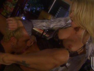 Busty Blonde Jessica Drake Sucks and Fucks For Cum