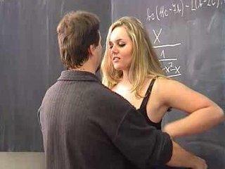 Corpulent student wants a A in her maths class