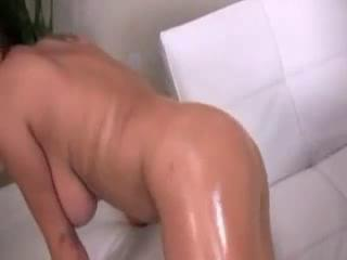 Oily Alexis Silver Reamed With Big Black Dick