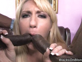 Luscious Missy Woods gets her mouth stuffed with cock