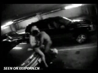 Couple caught on parkinglot web camera