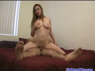Curvy girl Rucca Page rides a dick lustily