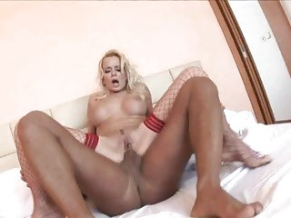 Anal loving Cindy Dollar gets her asshole pulverized