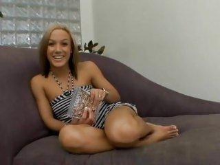 Teen hottie Kara Novak slips in a thick cockshaft
