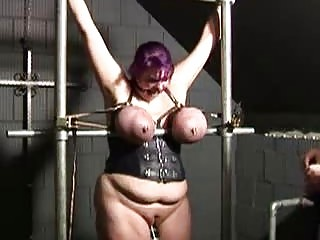 BBBW Housewife Ann punished in slut prison