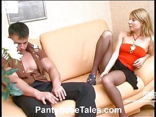 Alice&Nicholas naughty pantyhose video