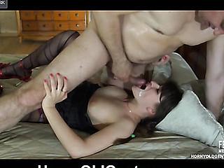 Gertie&Frank oldman sex action