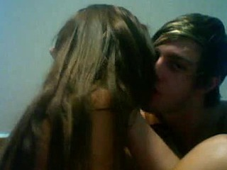 Teen couple private webcam fucking