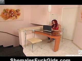 Alexia Nogueira t-girl fucking gal on movie