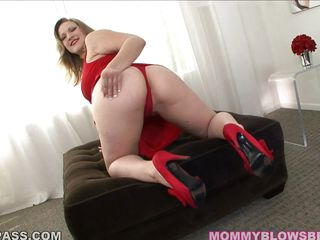 vicky vixen... milf fox in red