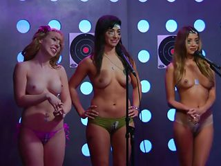 it's booty camp: topless basic training with playmate drill instructor
