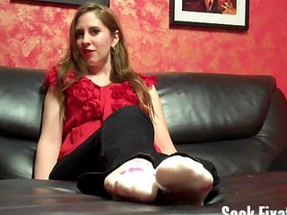 Peel my stinky socks off for me video