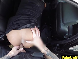 ###wn busty brit blowing uniformed cop