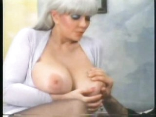 Retro foreplay porn with biggest tits chick